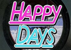 Happy Days Pokie Logo