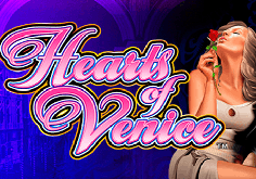 Hearts Of Venice Pokie Logo