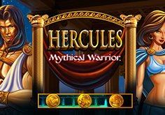 Hercules Mythical Warrior Pokie Logo