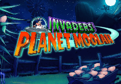 Invaders From The Planet Moolah Pokie Logo