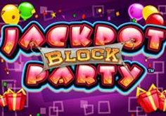 Jackpot Block Party Pokie Logo