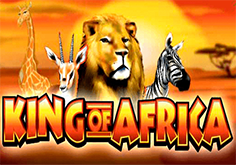 King Of Africa Pokie Logo