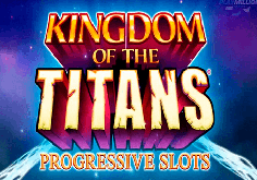Kingdom Of The Titans Pokie Logo