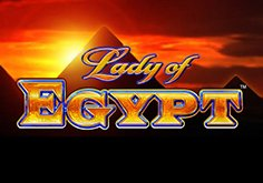 Lady Of Egypt Pokie Logo