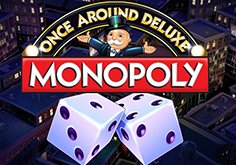 Monopoly Once Around Deluxe Pokie Logo