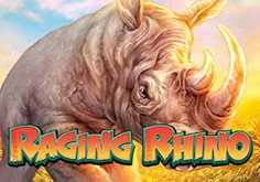 Raging Rhino Pokie Logo