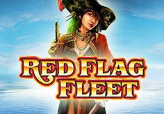 Red Flag Fleet Pokie Logo