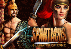 Spartacus Gladiator Of Rome Pokie Logo