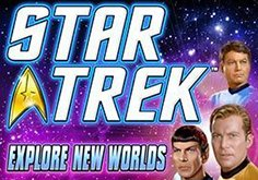 Star Trek Explore New Worlds Pokie Logo