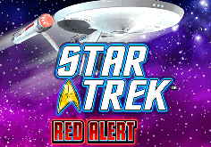 Star Trek Red Alert Pokie Logo