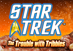 Star Trek The Trouble With Tribbles Pokie Logo