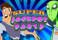 Super Jackpot Party Pokie Logo