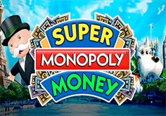 Super Monopoly Money Pokie Logo