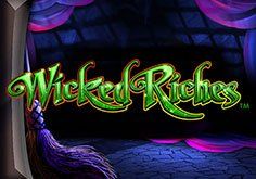 The Wizard Of Oz Wicked Riches Pokie Logo