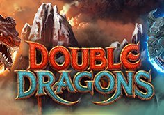 Double Dragons Pokie Logo